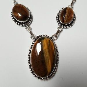 Jewelry - Tiger Eye gemstone necklace
